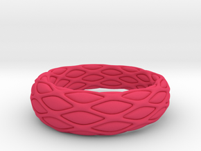 Impulse ring in Pink Processed Versatile Plastic