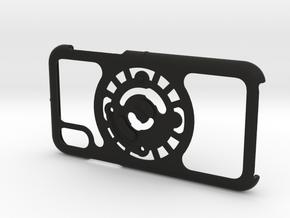 for iPhone X : core : CASECASE CLICK in Black Premium Versatile Plastic
