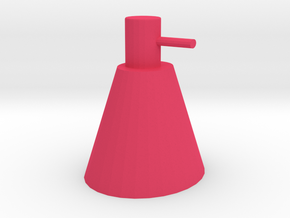 bottel in Pink Processed Versatile Plastic