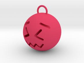 upset in Pink Processed Versatile Plastic: Small