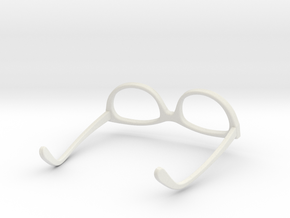 Glasses for LeGrand Doll MSD 1/4 scale in White Natural Versatile Plastic