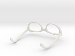 Glasses for LeGrand Doll MSD 1/4 scale in White Natural Versatile Plastic