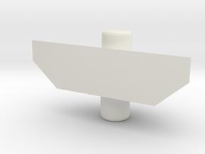 Legendary Voltron Arm Shield Adaptor in White Natural Versatile Plastic
