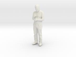 Printle C Homme 078 - 1/30 - wob in White Natural Versatile Plastic