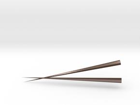 CHUAN'S Metal Chopsticks in Polished Bronze Steel