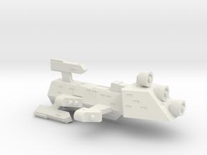 3788 Scale Kzinti Scout Drone Frigate (SDF) SRZ in White Natural Versatile Plastic