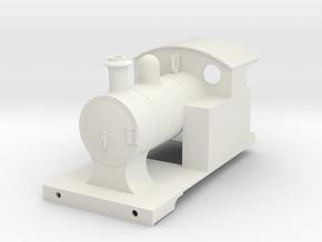 o-43-l-y-steam-railmotor-loco-1 in White Natural Versatile Plastic