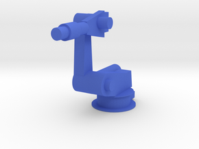 4-Axis Industrial Robot V00 in Blue Processed Versatile Plastic: Extra Small