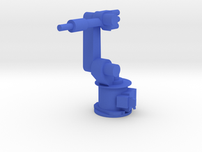 4-Axis Industrial Robot V01 in Blue Processed Versatile Plastic
