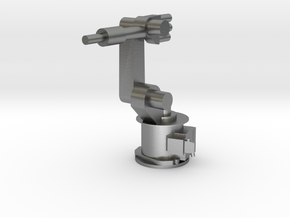 4-Axis Industrial Robot V01 in Natural Silver