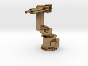 4-Axis Industrial Robot V01 in Natural Brass