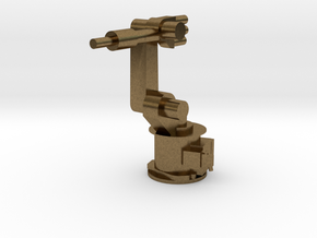 4-Axis Industrial Robot V01 in Natural Bronze