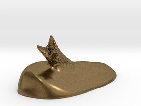 Sandworm in Natural Bronze: Small