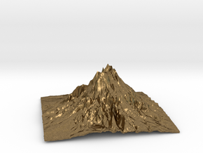 Mountain 1 in Natural Bronze: Small