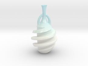 PLVase Color in Glossy Full Color Sandstone