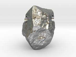 Natural Necessities Pendant Rock B in Natural Silver