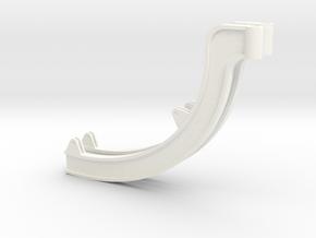 1.7 GUNSHIP SUPPORT 1 in White Processed Versatile Plastic