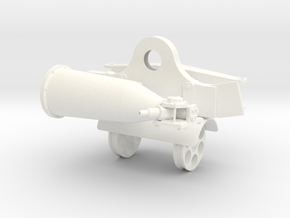 1.7 GUNSHIP SUPPORT 2 in White Processed Versatile Plastic