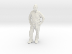 Printle C Homme 302 - 1/30 - wob in White Natural Versatile Plastic