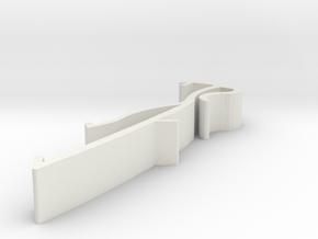 Blind Valance Clip 13A in White Premium Versatile Plastic