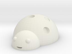 ladybug in White Natural Versatile Plastic: Medium