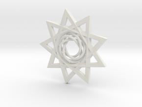 KnStar in White Natural Versatile Plastic