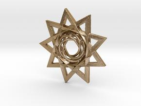 KnStar in Polished Gold Steel