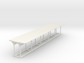 North Philly Station canopy in White Natural Versatile Plastic