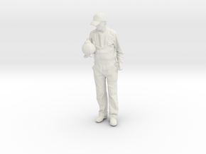 Printle C Homme 696 - 1/30 - wob in White Natural Versatile Plastic