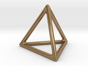 Simply Shapes Homewares Triangle in Natural Brass