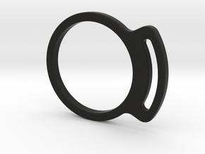 Dewidget body in Black Natural Versatile Plastic