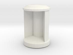 1/11 DKM UBoot VIIC Signal lamp in White Natural Versatile Plastic