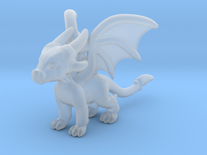 Cynder the Dragon Pendant/charm in Smooth Fine Detail Plastic