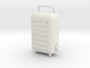 NASA Portable Cooling Unit 1/6 Scale in White Natural Versatile Plastic