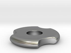 Fidget Spinner in Natural Silver