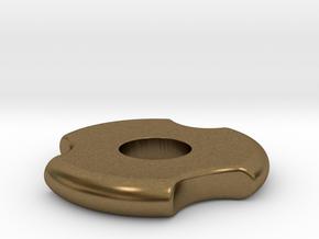 Fidget Spinner in Natural Bronze