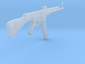 StG 44 (1/18 scale) in Smooth Fine Detail Plastic