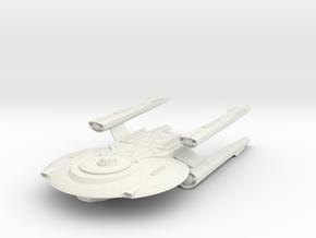 Federation Hampton Class  HvyCruiser in White Natural Versatile Plastic