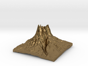Mountain 3 in Natural Bronze: Small
