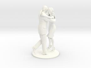 Tango Cross in White Processed Versatile Plastic