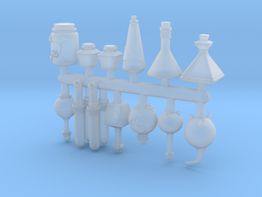 Potion Bottle Props / Items / Conversion Accessory in Smooth Fine Detail Plastic
