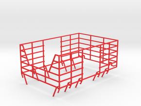 Krone Ballengitter in Red Processed Versatile Plastic
