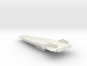 HyperX1/10 in White Natural Versatile Plastic