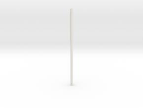 VK16.02 Leopard Barrel in White Natural Versatile Plastic