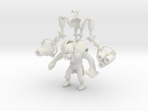 Tinker in White Natural Versatile Plastic