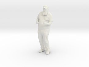 Printle C Homme 911 - 1/30 - wob in White Natural Versatile Plastic