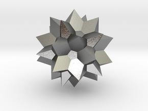 Go Geometric Homeware Star in Natural Silver: Small