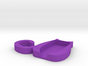 Trezor Cover - Kimba Papillon in Purple Processed Versatile Plastic