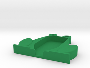 Trezor Cover - Jeremiah Jumplong in Green Processed Versatile Plastic