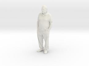 Printle C Homme 404 - 1/32 - wob in White Natural Versatile Plastic